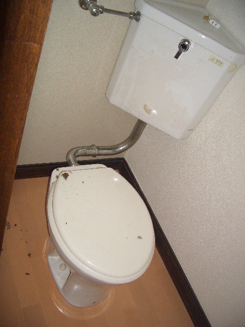 トイレ(リフォーム前)