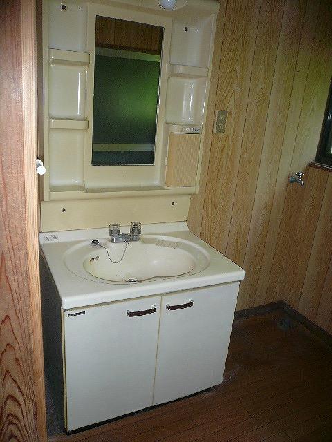 洗面化粧台・室内洗濯機置き場