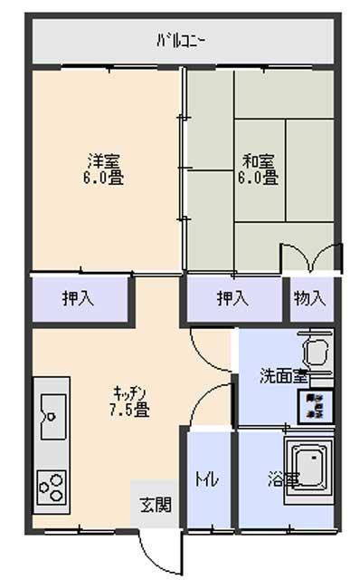 間取り 畳→洋室にリフォーム