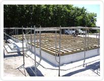 土台敷基礎パッキン工法