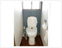 トイレ2トーンクロス