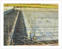 厚さ15cm鉄筋コンクリートベタ基礎