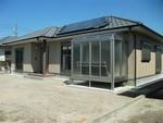 串良町上小原 E③号棟 H30.4.20更新 オール電化・太陽光 サンルーム付き