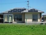 串良町岡崎B⑧号棟 H30.3.17更新 オール電化・太陽光 サンルーム付き