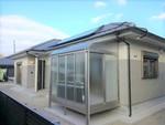 王子町D③号棟 H30.7.23更新 太陽光・オール電化 サンルーム付き フェンス設置